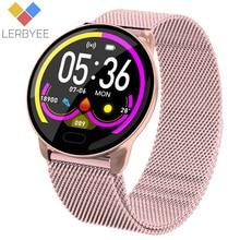 Lerbyee K9 akıllı bilezik nabız monitörü su geçirmez spor izci renkli ekran spor aktivite Tracker için iPhone xiaomi