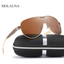 Vintage Aluminum Polarized Sunglasses Men Classic Brand Sun glasses