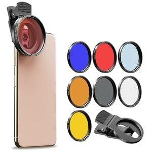 Image 2 - APEXEL 52 мм 7 в 1 полный комплект фильтров для объектива ND CPL Star полный красный желтый цветной фильтр для объектива камеры для Canon всех смартфонов