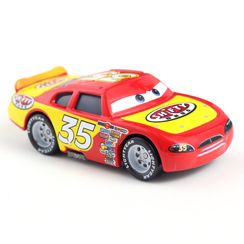 Disney Pixar Cars 3 38 Lightning McQueen Mater Jackson Storm Ramirez Diecast Metal Alloy Model Gift For Christmas Gifts image