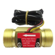 Switch Hall-Flow-Meter Water-Sensor for Copper-Shell