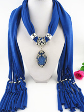Womens jewelry shawl scarf butterfly diamond alloy base resin pendant foreign trade hot sales