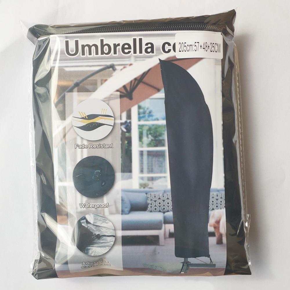 Купить с кэшбэком Garden Parasol Covers Patio Umbrella  Anti-aging Dustproof Pavilion Beach  Cover Durable Outdoor Furniture Protect Patio