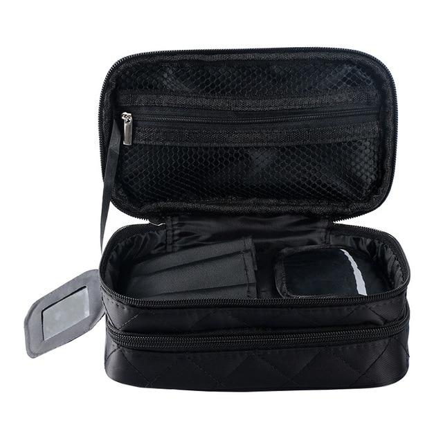 New Fashion Zipper Women trave Make Up  bag Big Capacity 2 layers cosmetic bags beauty Case Makeup Organizer Toiletry bag kits 2
