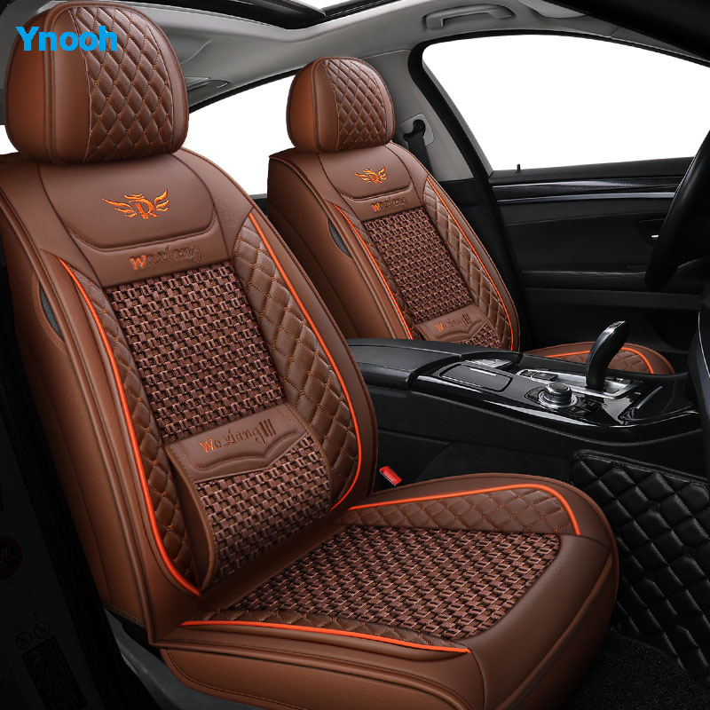 Ynooh Car seat covers For for kia rio 3 morning stinger niro cerato 3 carnival mohave sportage 4 optima 2017 one car protector