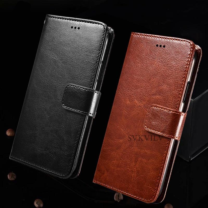 Кожаный чехол-бумажник с откидной крышкой для Huawei P smart 2019 Z Plus Y5 Y6 II Compact 2017 Y6 Prime Y7 Y9 2019 2018, мягкий чехол из ТПУ