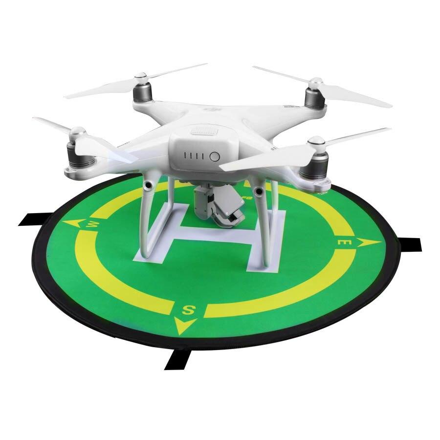 Portable Fast-fold 50cm Landing Pad Drone Parking Apron Take Off Landing Station for DJI Mavic 2 Mini/Pro/Air2 Phantom 4/Pro (50cm landing pad)