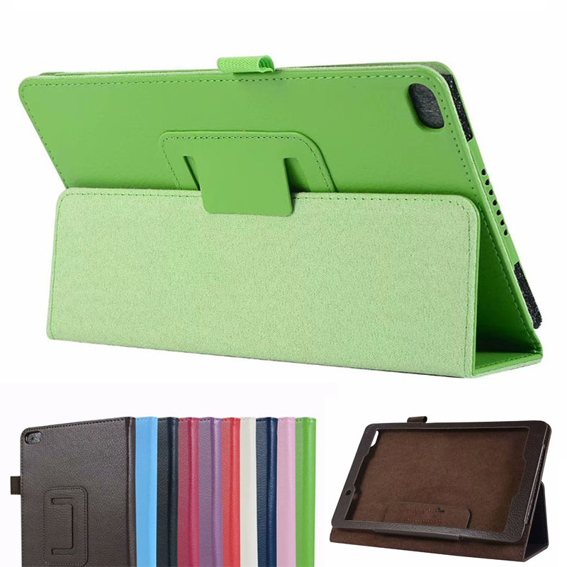 PU Folio Flip Magnetic Stand Leather Case Cover Pouch For <font><b>Lenovo</b></font> Tab E8 <font><b>TB</b></font>-<font><b>8304F1</b></font> <font><b>TB</b></font>-8304F 8inch Tablet PC image