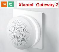 Xiaomi-Gateway de casa inteligente multimodo, Hub de malla con WIFI, Bluetooth, ZigBee, 3 o 2TH, funciona con la aplicación Mijia Apple Homekit