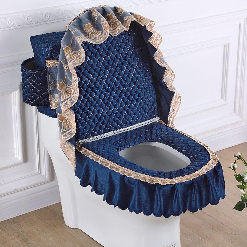 toalete com saco de armazenamento caso do