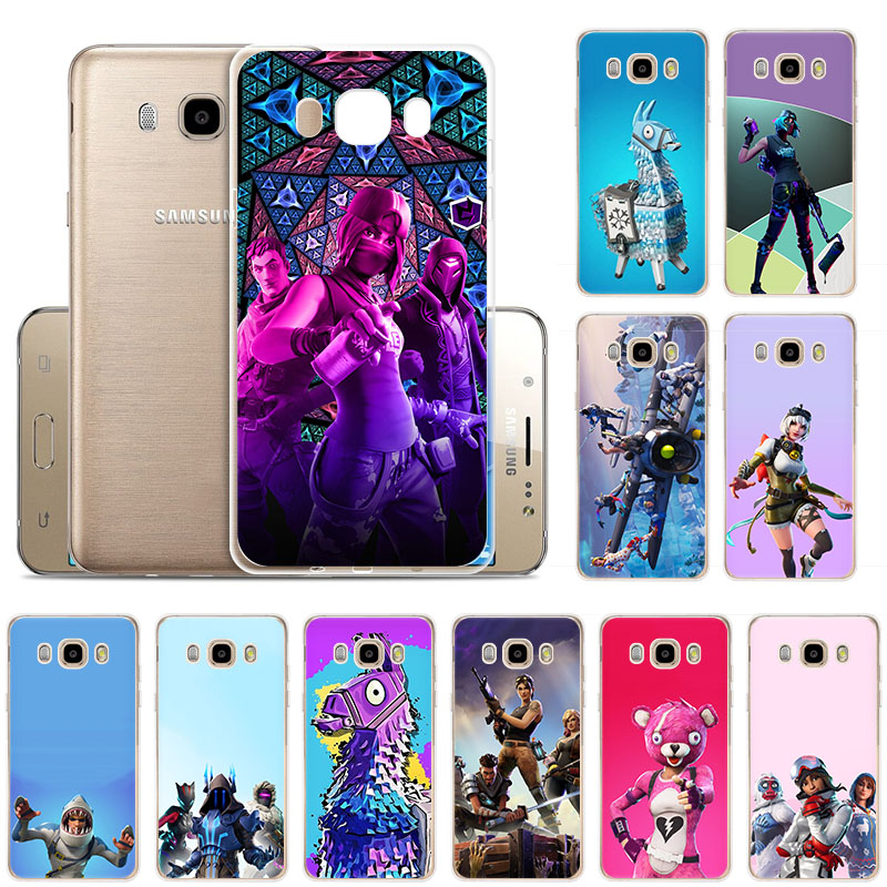 Hot game fire FN battle royale Silicone phone case for Samsung J8 J7 Prime J6 J5 2017 J4 J3 2018 J2 Fashion monsters lama cover image