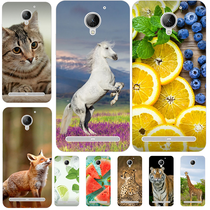 Lovely Fashion Phone <font><b>Case</b></font> for <font><b>Lenovo</b></font> Vibe <font><b>C2</b></font> / <font><b>C2</b></font> Power K10A40 <font><b>Case</b></font> Coconut Printed Phone Back Cover for <font><b>Lenovo</b></font> <font><b>C2</b></font> Power K10A40 image