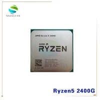 AMD Ryzen 5 2400G R5 2400G 3.6 GHz Quad-Core Quad-Thread 65W CPU Processor YD2400C5M4MFB Socket AM4