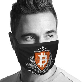 Bitcoin Shield Against Inflation Protection Warmer Winter Breathable Face Masks  2