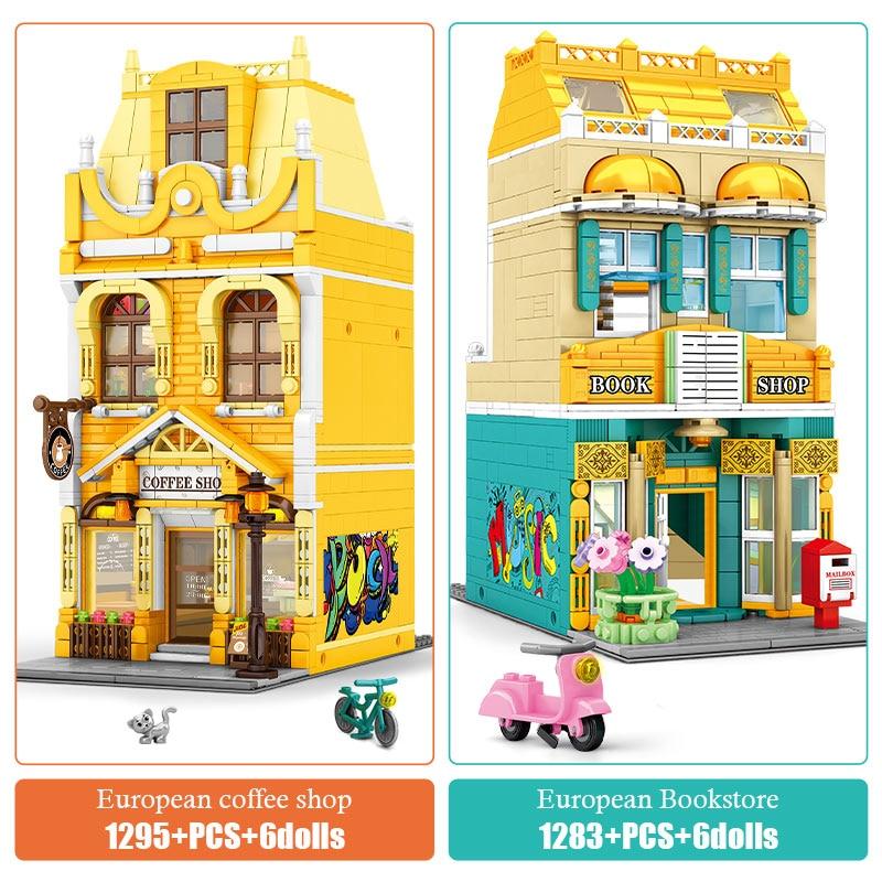 SEMBO Hong Kong Style Shop Classic Building Blocks