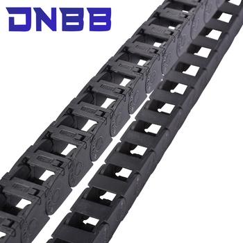 1m 15 18 łańcuchy transmisyjne plastikowa linka kabel nylonowy przenośnik łańcuchowy przenośnik łańcuchowy przenośnik łańcuchowy do Cnc Route 3D printer obróbka drewna tanie i dobre opinie NONE CN (pochodzenie) Prowadnica kablowa-gąsienica Z tworzywa sztucznego cable carrier Standardowy
