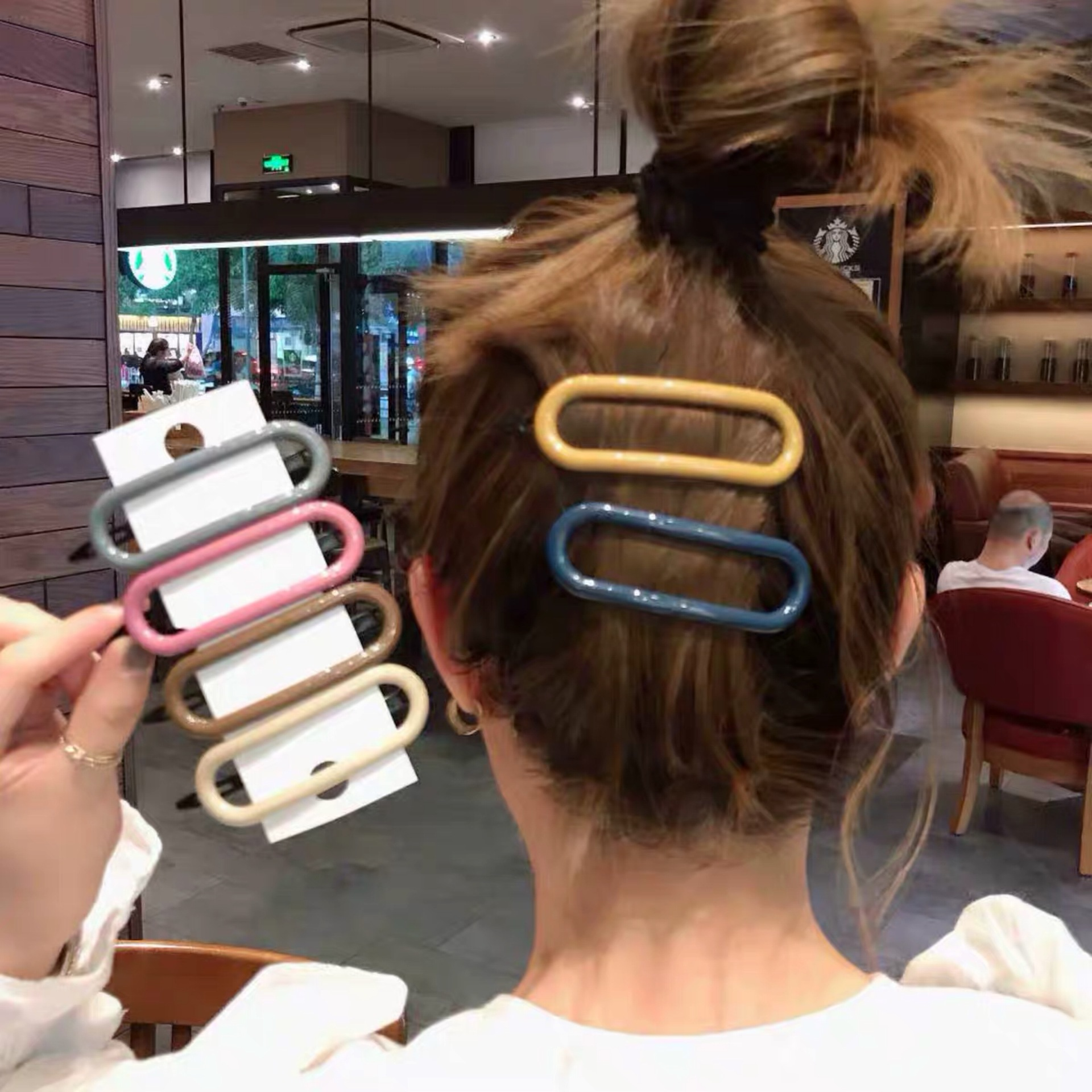 Hair Clips Pins For Women Fashion Girl Hairpins Barrettes Hair Accessories Morandi Color Hairgrip