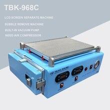 TBK-968C 2 в 1 ЖК-экран сепаратор ОСА Автоклавный пузырь удалить машину bulit-in вакуумный насос для ipad изогнутый экран