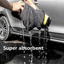 Serviette en microfibre Super absorbante, pour voiture touareg focus 3 bmw e87 pajero audi a4 b7 ford transit w210 mercedes benz, 2020