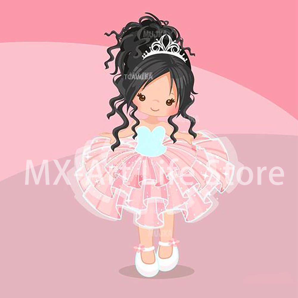 Фигурное платье принцессы с металлическими вырезами милая кукла девочка трафарет для DIY скрапбукинга ремесло украшение для открыток 2020|Вырубные штампы|   | АлиЭкспресс
