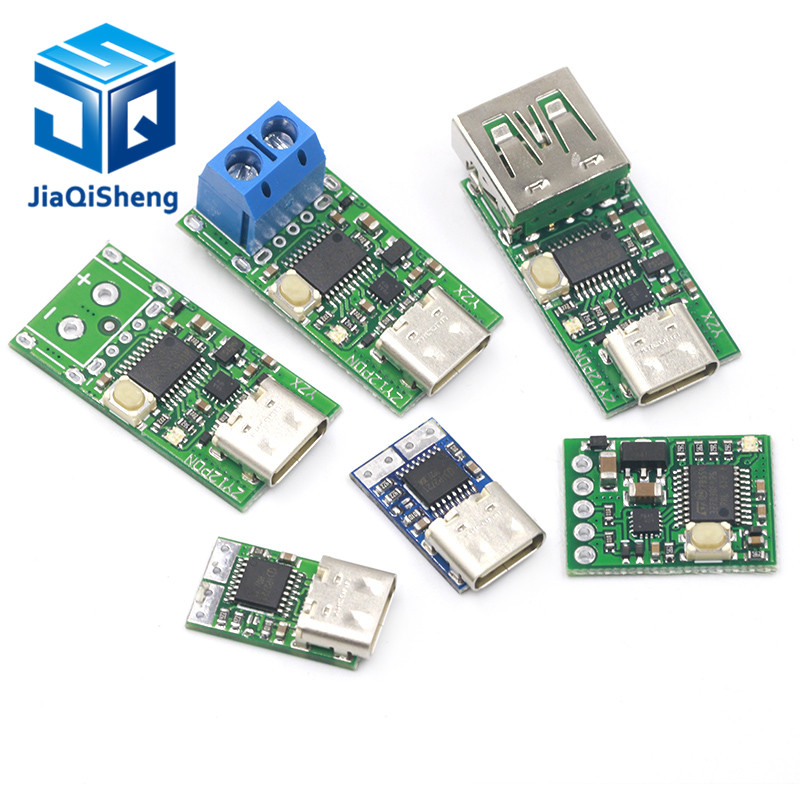 Type-C USB-C PD2.0 PD3.0 To DC Spoof Scam Fast Charge Trigger Polling Detector USB-PD Notebook Power Supply Change Board Module