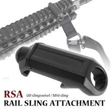 Abay Airsoft Tactical RSA QD Rail Sling Attachment Quick Detach Swivel Mount Adapter Rifle Gun Accessories