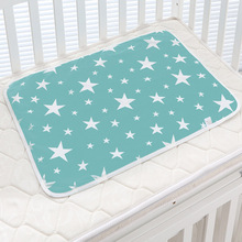 Lovely Baby Changing mat Infants Portable Foldable Washable Waterproof Mattress Children Game Floor Mats Cushion Reusable Diaper