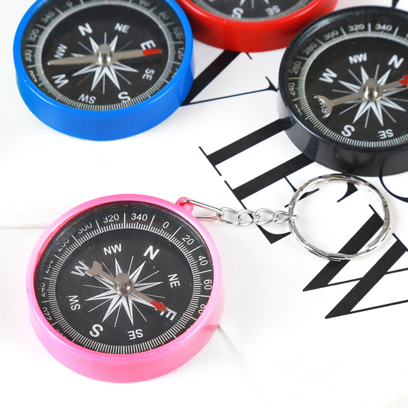 Outdoor American compass compass key chain mini gift compass buy one get one free