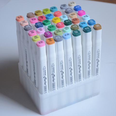 marcadores de arte para esbocar alcool desenho
