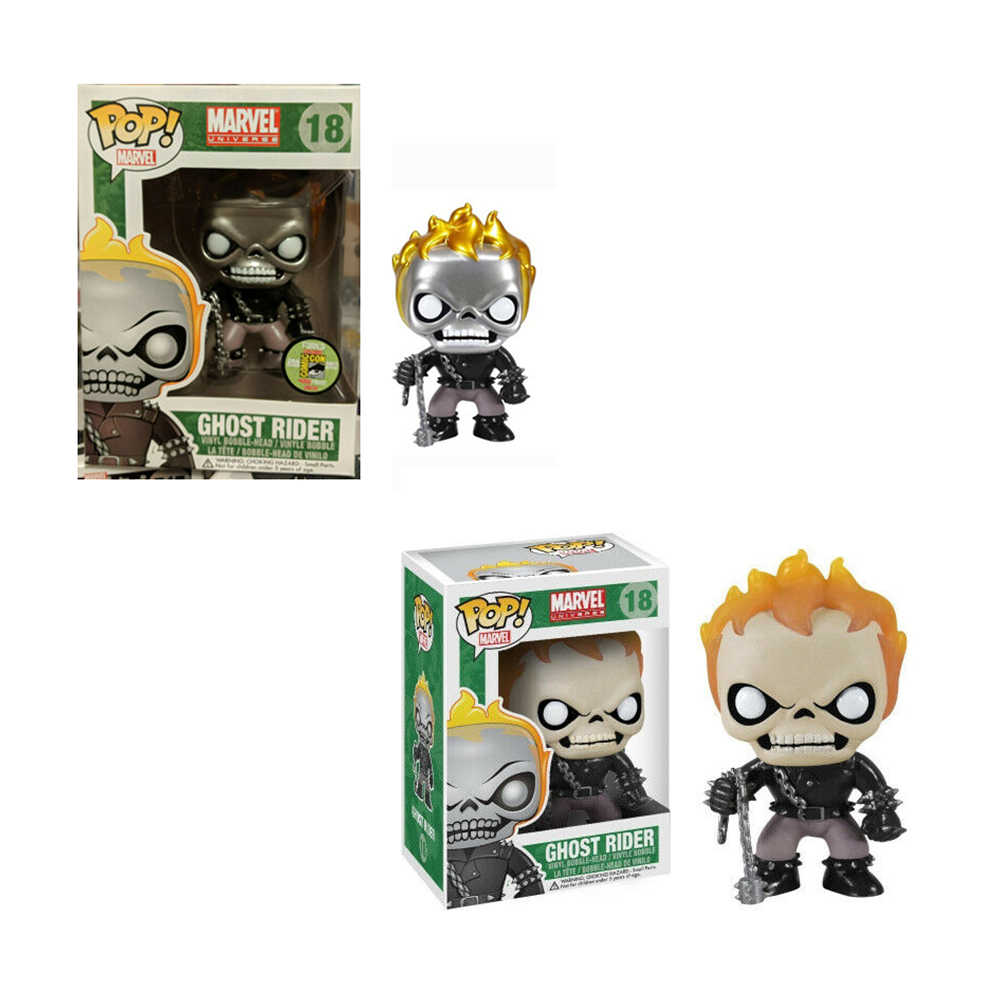 FUNKO POP Marvel Ghost Rider ไวนิล Action Figures Collection ของเล่น