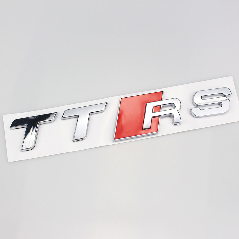 Car-Logo Stickers Audi TT Cool Rear Sport for Lettered Modified 3D