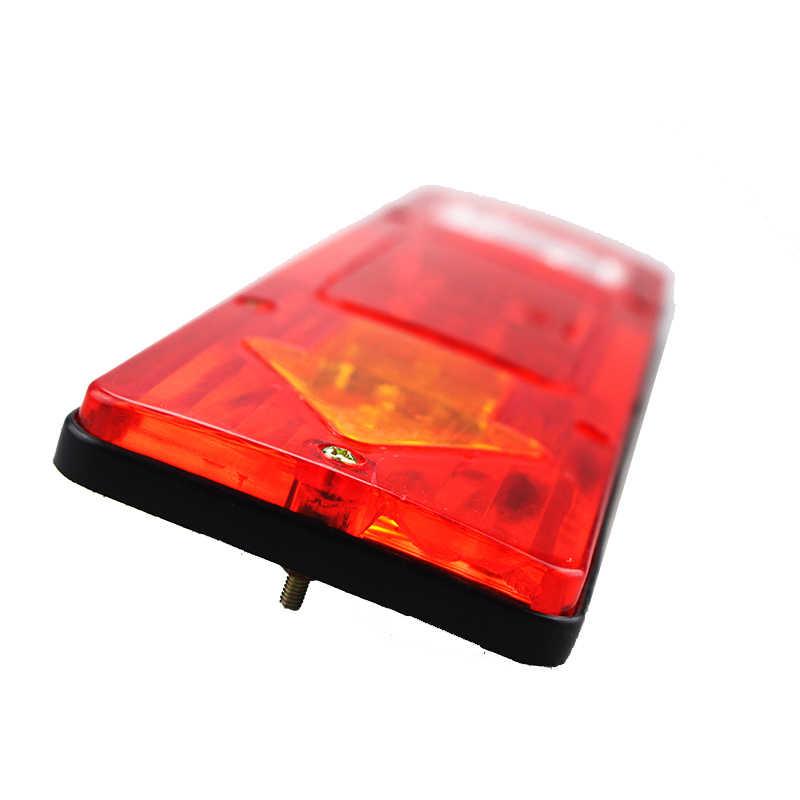 Nlpérl 2x caminhão para reboque, à prova d' água, caminhão, 19led, luzes traseiras, 12v/24v, 10-30v, luzes traseiras lâmpada extra do sinal de seta parar