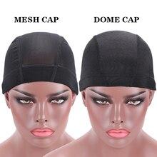 Nunify S M L Cheap Elastic Mesh Dome Wig Cap Cap With Wig Net Cap Weaving Caps Headband Wig Cap Wig Accessories Tools