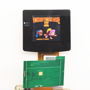 Image 4 - Haute lumière pour GBC rétro éclairage rétro éclairage écran LCD pour GameBoy couleur Console pour GBC Console verre écran tournevis gratuit!