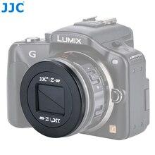 JJC Camera automatyczna osłona obiektywu dla Panasonic Lumix G X Vario sztuk 14 42mm obiektyw H PS14042 obiektyw
