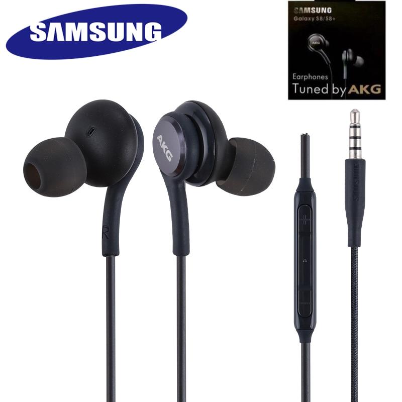 Samsung – écouteurs d'origine Galaxy S8 + S9 s9 + AKG, casque d'écoute, microphone à distance, pour téléphones xiaomi huawei NOTE 10/9/8