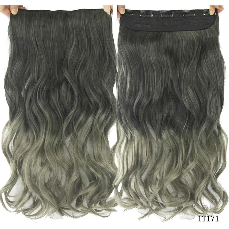 polegadas longo 5 gres de cabelo ondulado