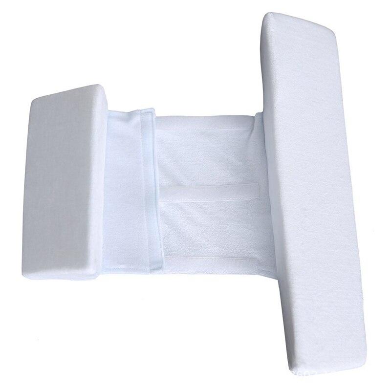 Позиционер для сна для новорожденных, противоскользящая Подушка с плоской головкой в рулоне, подушка для подголовника в форме d, подушка для...