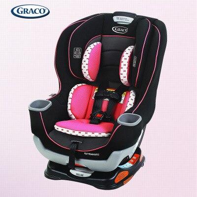Американский 4 когда-либо Модернизированный 0-7-12 лет сиденье младенец ребенок ISOFIX порт