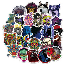 100pcs stickers pack pegatinas horror anime series sticker on laptop snowboard luggage car styling bike motorcycle decals toy(China)
