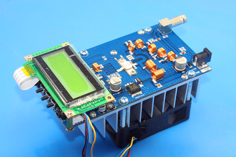 <font><b>Fm</b></font> stereo 30w <font><b>fm</b></font> <font><b>transmitter</b></font> PCB kit max <font><b>50w</b></font> output power frequency adjustable image