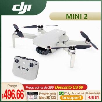 DJIMavic Mini2 Drones4KCamera RCHelicopterProfessionalGPSQuadcopter4x Zoom249gUltralight10kmTransmission 1