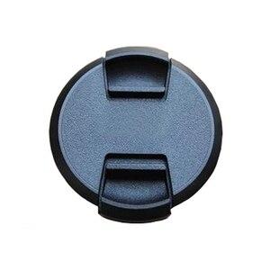 Image 4 - 10 pz/lotto di alta qualità 40.5 49 52 55 58 62 67 72 77 82mm centro pizzico coperchio a scatto per obiettivo fotocamera SONY