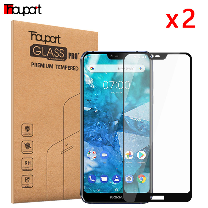 5D Tempered Glass For <font><b>Nokia</b></font> 5.1 Plus <font><b>7.2</b></font> Glasses For <font><b>Nokia</b></font> 7.1 <font><b>Screen</b></font> <font><b>Protector</b></font> Full Protective Film For <font><b>Nokia</b></font> 6.1 2018 Glass image