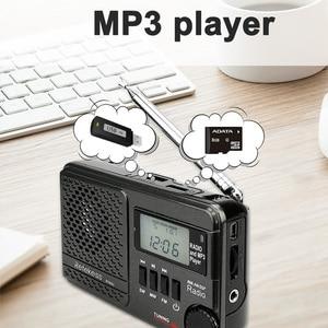 Image 3 - RETEKESS TR601 Radio réveil numérique DSP/FM/AM/SW récepteur Radio lecteur Mp3 9K/10K Tuning carte Micro SD et entrée Audio USB