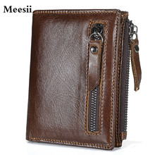 Genuine leather Blocking Wallet Leather