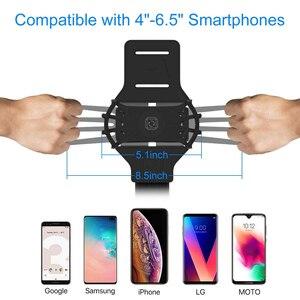 Image 4 - 360 dönebilen ayrılabilir kol bandı cep telefonu tutucu açık spor için spor koşu NC99