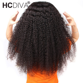 Curly Human Hair Wig Pre Plucked With Baby Hair Peruvian Remy 360 Lace Frontal Human Hair Wig For Black Women 180% 360 Lace Wig