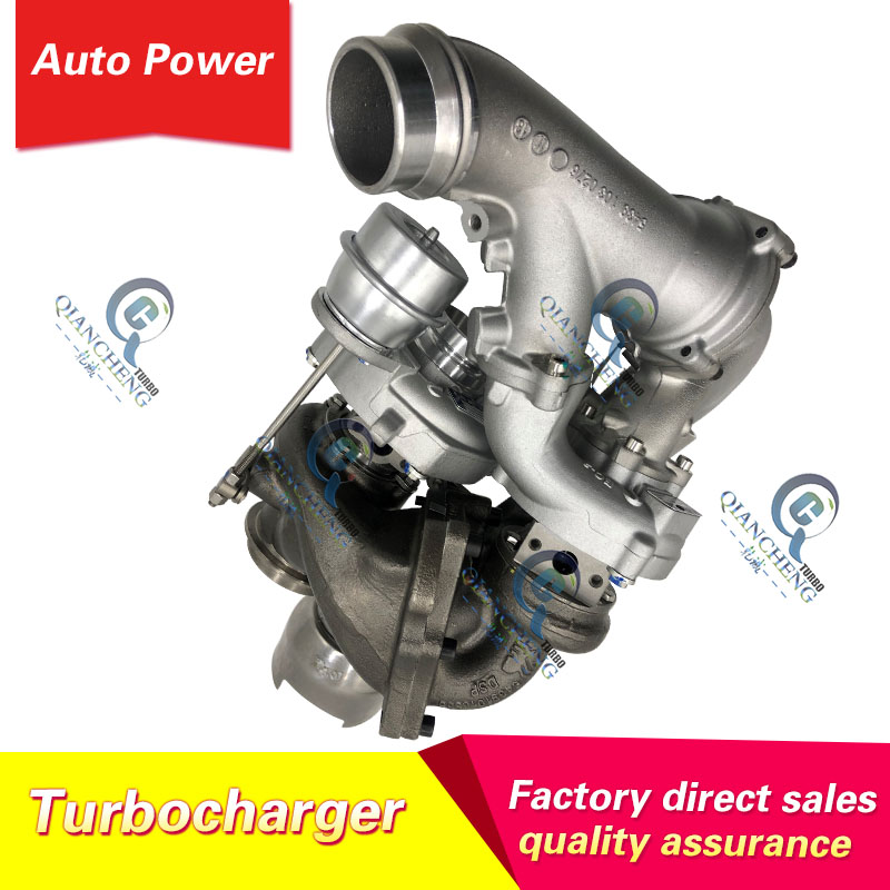 Turbocharger for Mercedes Viano 2.2 CDI 163 HP for Mercedes-PKW Sprinter Viano Vito 2.2 CDI <font><b>OM651</b></font> 54399700106 turbo cartridge image