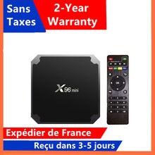 Best X96mini iptv box Android 9.0 tv box 1G 8G 2G 16G media player x96 mini Amlogic S905W smart ip tv set top box